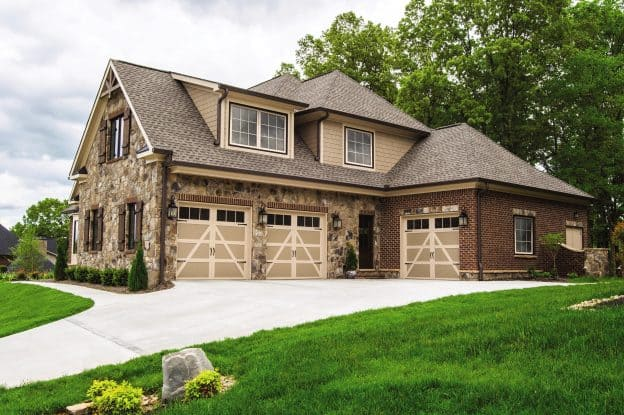 Wayne Dalton Carriage House Wood Model 9700 Residential Garage Doors