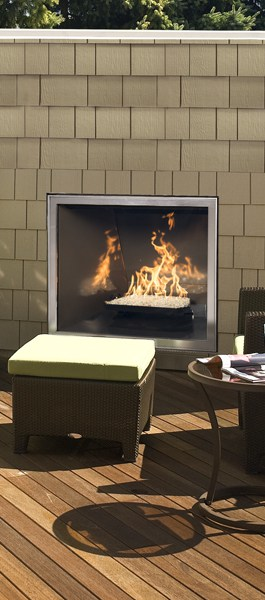 town country tc42 outdoor cressy door fireplace
