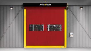 High Speed Fabric Roll Up Commercial Door Model 881