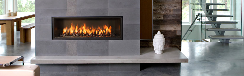 Luxury gas fireplace design decoration for Luxury fireplace designs