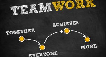 Teamwork - strategy concept
