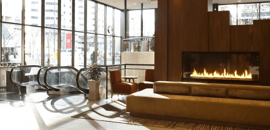 Custom Gas Fireplace Designs by Stellar Hearth Cressy