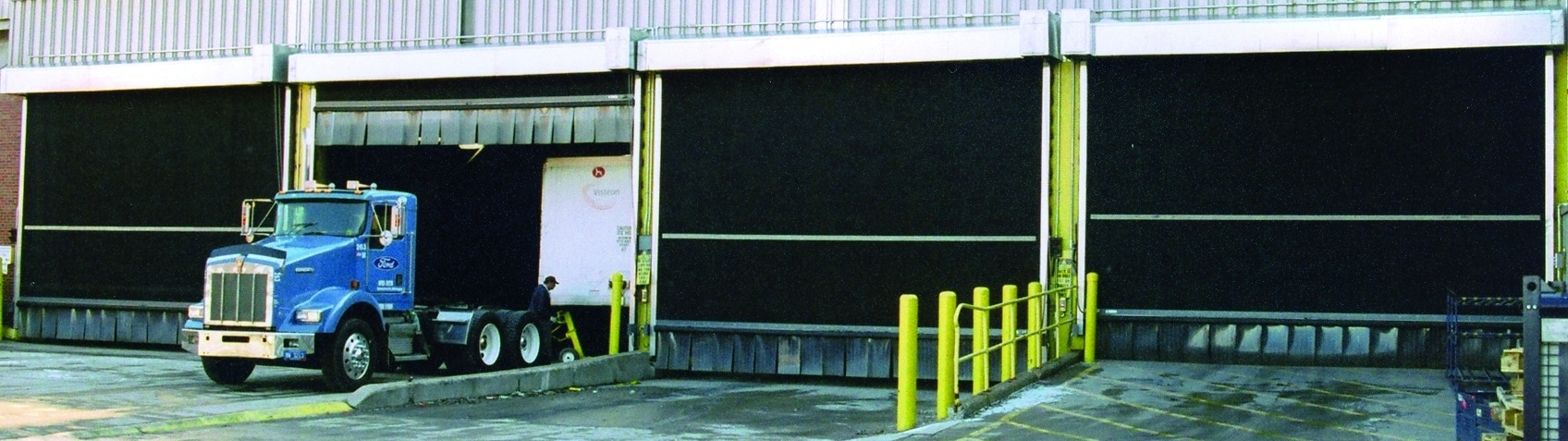 Industrial Rubber Roll Up Doors The Ultimate In Durable