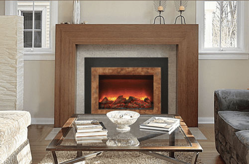 Amantii Electric Fireplace Insert Cressy Door Amp Fireplace
