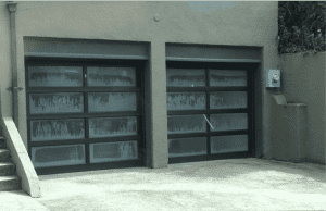 etched-tempered-satin-glass-garage-doors