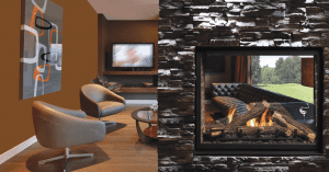 Kingsman-MCVST42-Zero-Clearance-Direct-Vent-See-Through-Gas-Fireplace